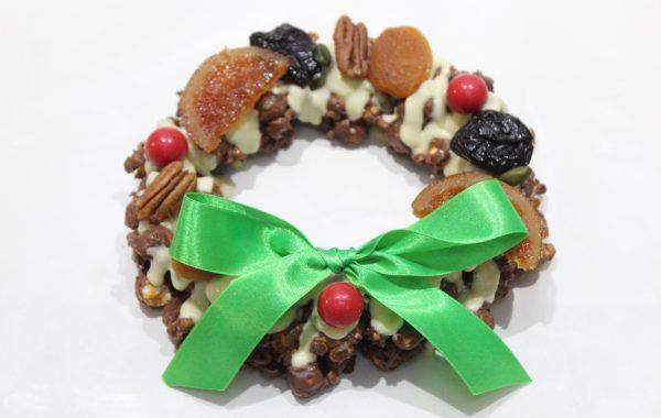 チョコレート<br>クリスマス<br>リース
