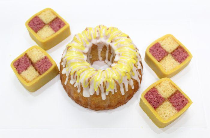イギリスのお菓子<br>Part3<br>レモンドリズルケーキ他