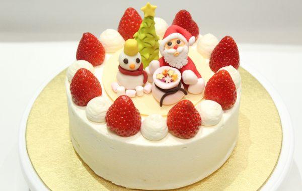 クリスマス仕様<br>イチゴの<br>ショートケーキ<br>