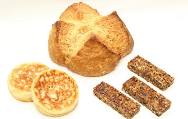 朝食にぴったり<br>ソーダブレッド<br>クランペット