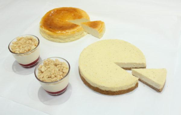 3種類の<br>チーズケーキ<br>を習おう!