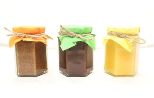 スプレッド<br>3種類教えます<br>塩キャラメル<br>レモンカード<br>チョコプラリネ