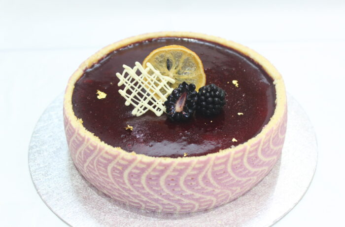 ブラックベリー<br>とレモンの<br>デザートムース