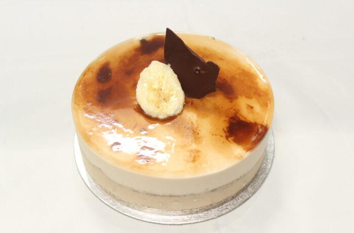 コーヒー<br>とバナナの<br>ムースケーキ