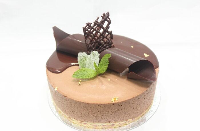 ミントと<br>チョコレートの<br>デザートムース
